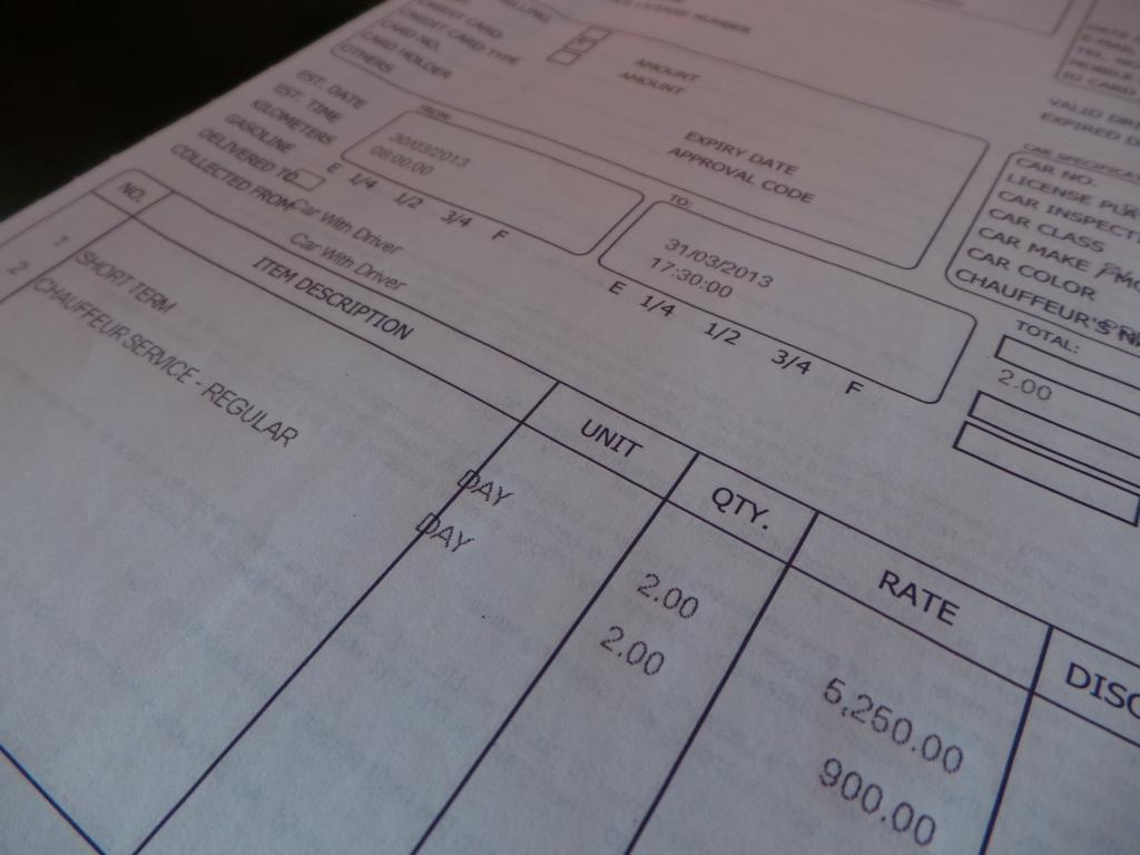 ตอนไปรับรถที่ Sixt จะต้องเซ็นรับรถและรับทราบราคา ราคานี้ลด50%แล้ว โปรโมชั่นพอดี แถมดูราคาพี่คนขับแล้ว โอ้ ไม่แพงอย่างที่คิด