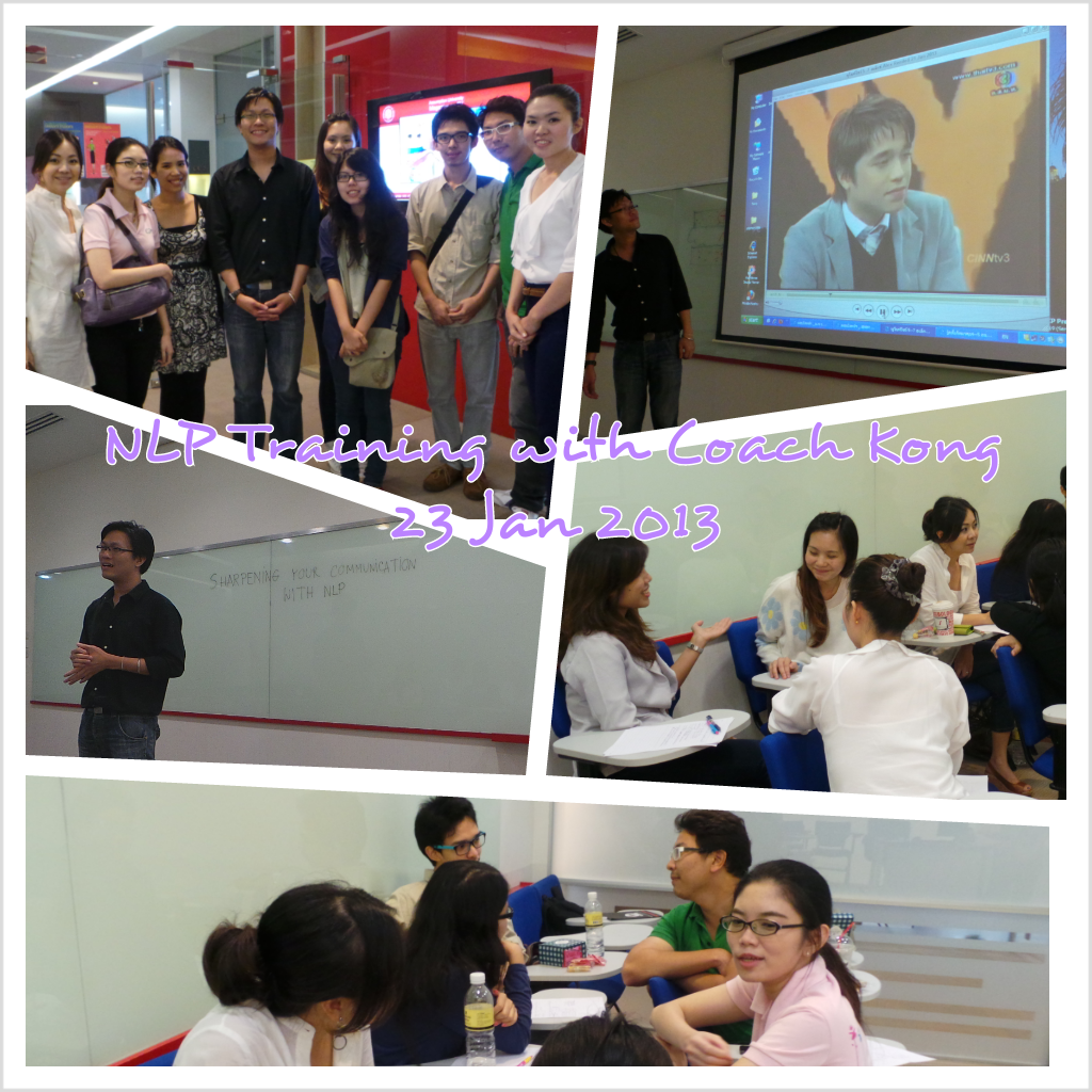 """Sharpening your Communication with NLP"" training class by @ekongbkk"