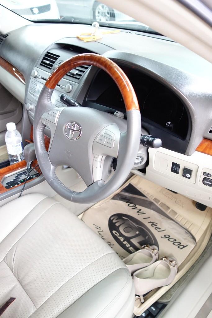 ตรวจสอบความสะอาดภายในรถ ส่งมอบรถก่อนกลับ