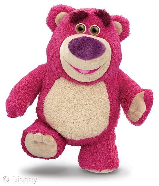 หมีจอมกอดสีชมพู ตัวโปรด