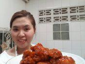 เสร็จแล้วค่ะ ไก่ทอดบอนชอน สูตร @pakada